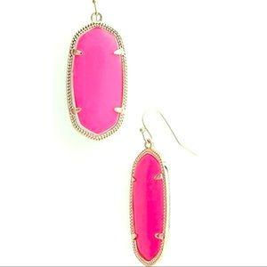 Kendra Scott Elle Hot Pink Earrings
